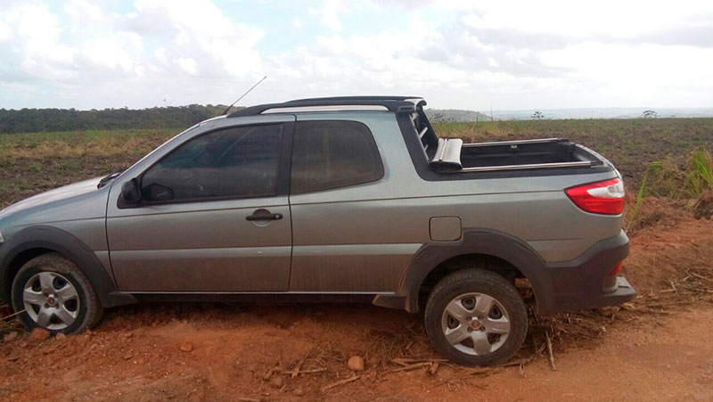 Fiat strada roubado Itabaiana Sergipe