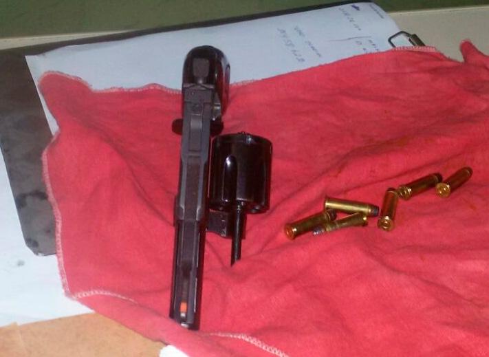 arma de fogo Ribeirópolis Sergipe