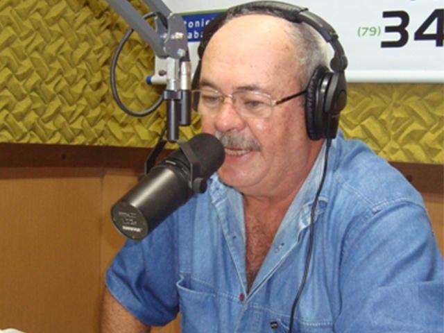 Radialista Francis de Andrade Itabaiana Sergipe