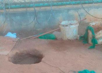 Internos cavam t�nel e fogem de pres�dio no Sert�o Sergipano durante a madrugada