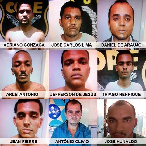 fugitivos cope Aracaju