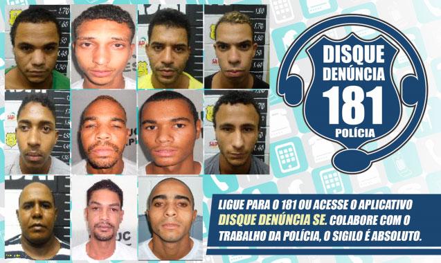 Fugitivos penitenciária São Cristóvão sergipe