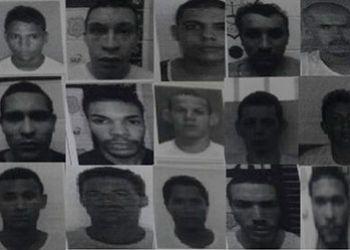 Sejuc divulga lista com os nomes dos fugitivos do Complexo Penitenciário de São Cristóvão