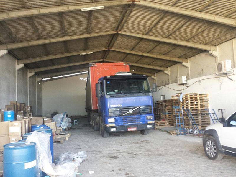 Galpão Itabaiana Sergipe BR-235 carga roubada óleo de cozinha
