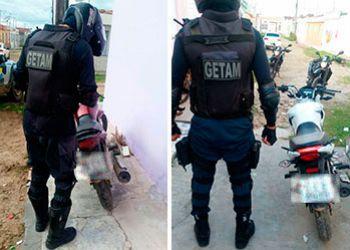 Motocicletas com restrições de roubo, licenciadas em Itabaiana e Campo do Brito são recuperadas pela PM