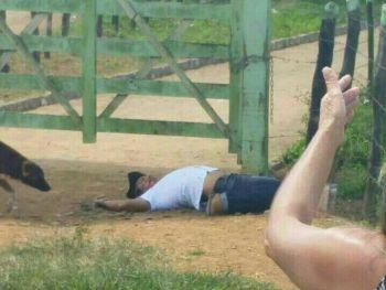 Em Ribeir�polis (SE), uma pessoa � executada a tiros e outra fica ferida