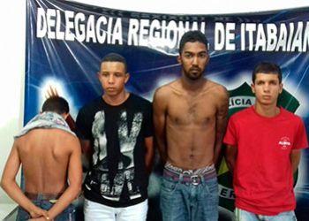 Polícia desarticula associação criminosa envolvida com tráfico de drogas em Itabaiana