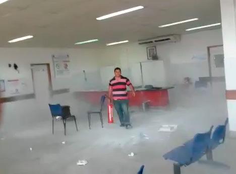 homem surto hospital Lagarto Sergipe