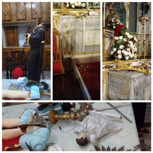 Imagens religiosas Igreja Matriz Nossa Senhora da Piedade Lagarto Sergipe
