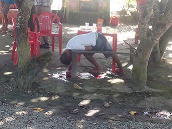 Homem � morto a tiros em bar na cidade de Areia Branca