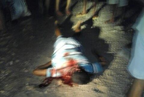 homicídio povoado Areias Areia Branca Sergipe