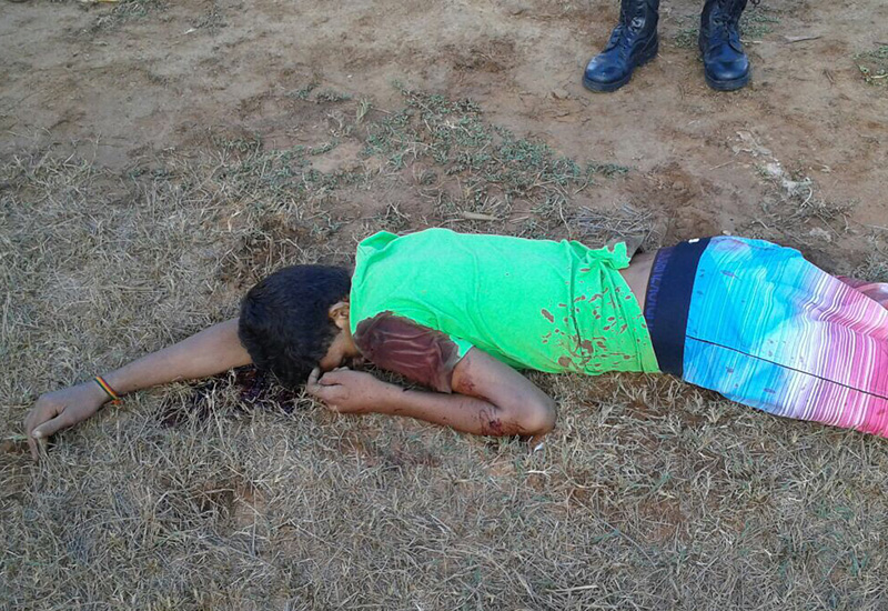 assassinato adolescente Carira Sergipe