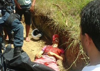 Jovem � assassinado a tiros ap�s ser perseguido por motociclista na zona rural de Itabaiana