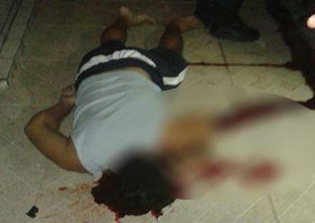 Homem natural de S�o Paulo � executado a tiros no centro de Moita Bonita