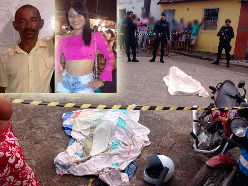 Assassinato Pai e Filha Lagarto Sergipe
