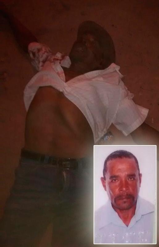 homicídio povoado Cajueiro Areia Branca Sergipe