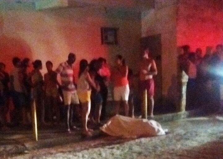 homicidio arma de fogo Aracaju Sergipe