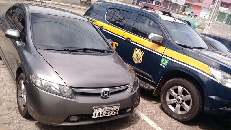 Honda Civic Roubado Belo Horizonte
