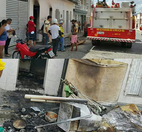 Incêndio Itabaiana Sergipe