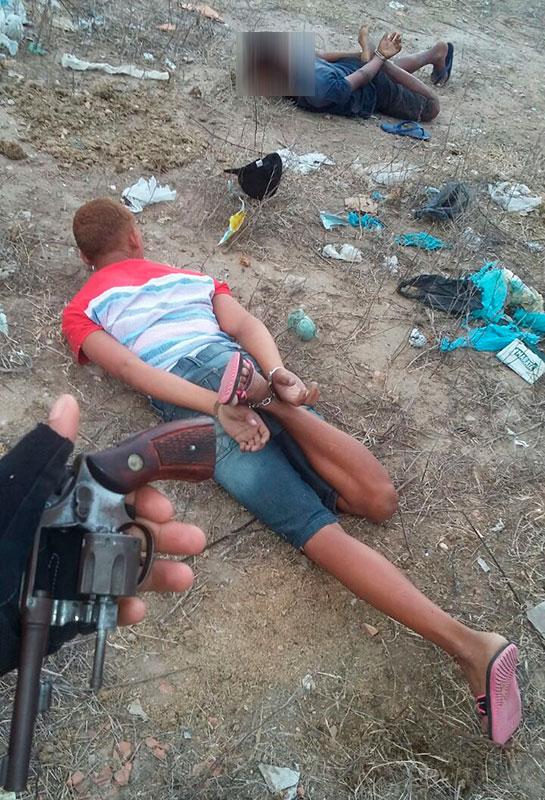 Irmãos adolescentes revólver Itabaiana Sergipe