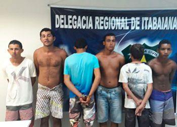 Operação policial desarticula na cidade de Itabaiana associação criminosa composta por 4 irmãos