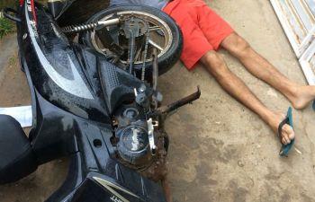 Irm�os g�meos s�o assassinados a tiros na periferia da cidade de Itabaiana