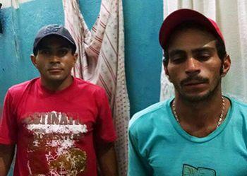 Irm�os s�o detidos no Sert�o Sergipano ap�s adquirir drogas em Itabaiana