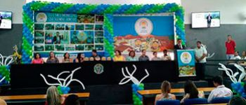 Solenidade de entrega do Selo Unicef Munic�pio Aprovado � realizado na C�mara de Vereadores