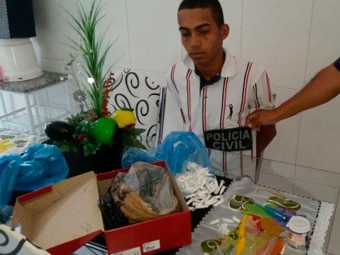 tráfico de drogas Loteamento Santa Mônica Itabaiana Sergipe