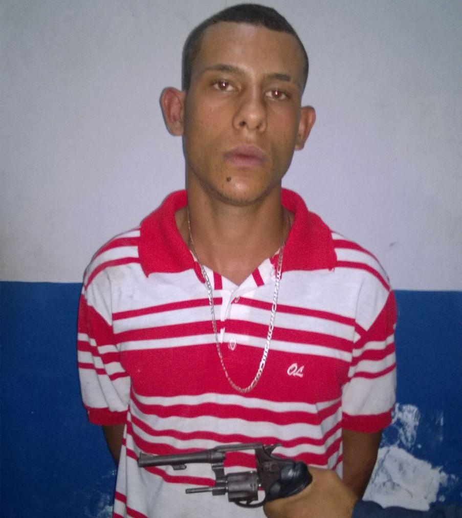 Porte ilegal revolver espetinho Itabaiana Sergipe