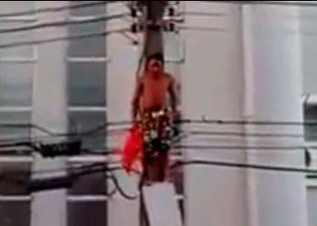IML identifica jovem morto eletrocutado durante ato contra impeachment em Aracaju