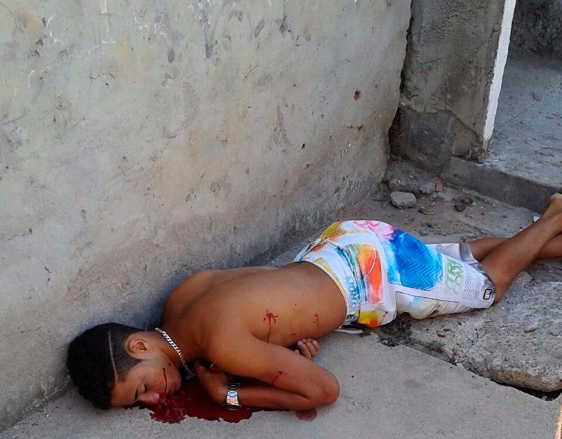 assassinato Bairro Olaria Aracaju