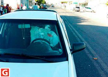 Marchante é executado dentro de veículo na periferia da cidade de Itabaiana