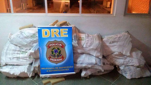 maconha apreendida Polícia Federal Nossa Senhora da Glória Sergipe