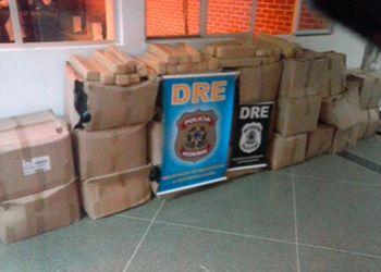 Pol�cia Federal apreende quase uma tonelada de maconha no Centro Sul de Sergipe
