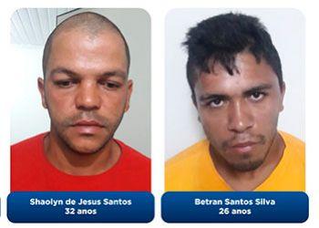 Operação da Polícia Civil resulta na prisão de dois suspeitos por homicídios de jovens da cidade de Malhador