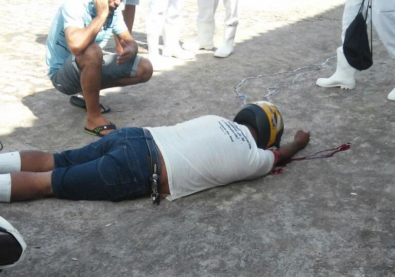 marchante assassinado Matadouro Itabaiana Sergipe