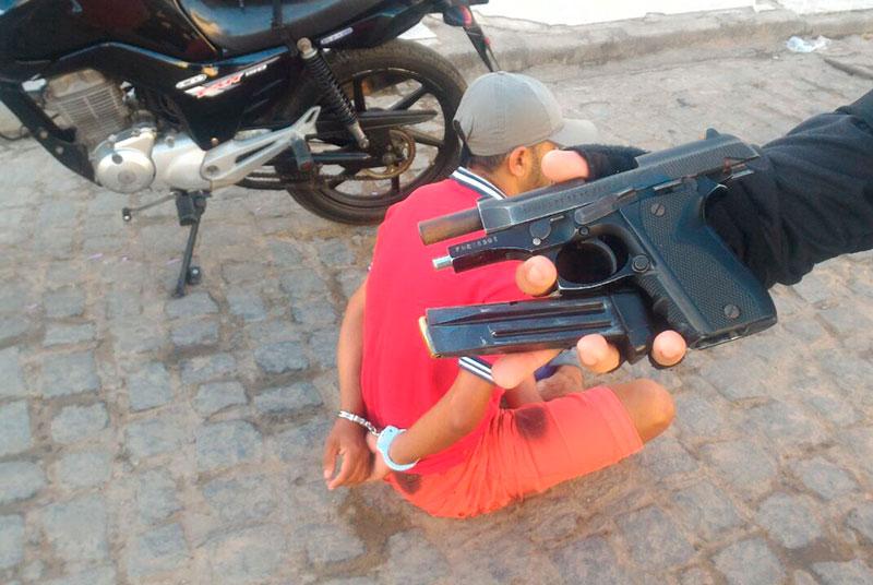 Getam Itabaiana Sergipe Pistola 765