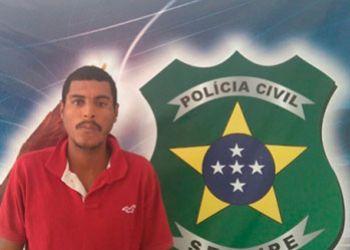 Jovem acusado pelo crime de roubo majorado � preso no munic�pio de Itabaiana