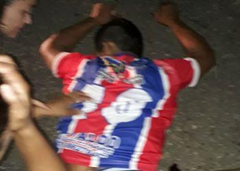 Morador da zona rural de S�o Domingos morre ap�s ser atropelado por motocicleta em rodovia estadual