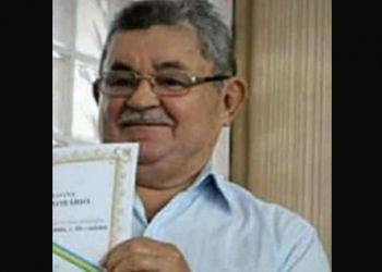 Morre aos 78 anos ex-presidente da C�mara Municipal de Itabaiana