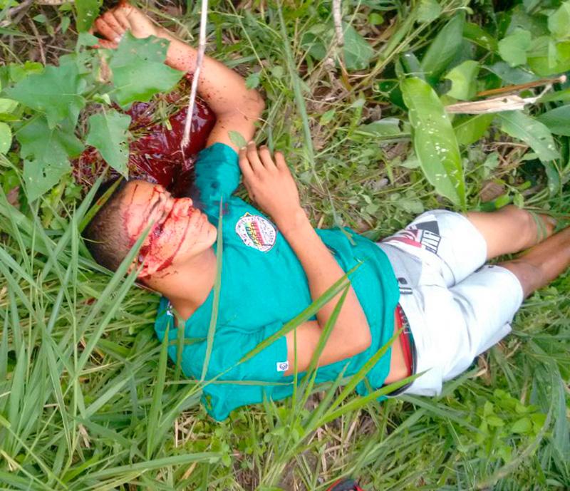 homicídio Povoado Manilha Areia Branca Sergipe