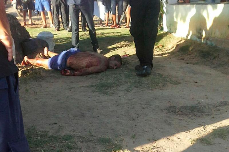 homicídio Faca Areia Branca Sergipe