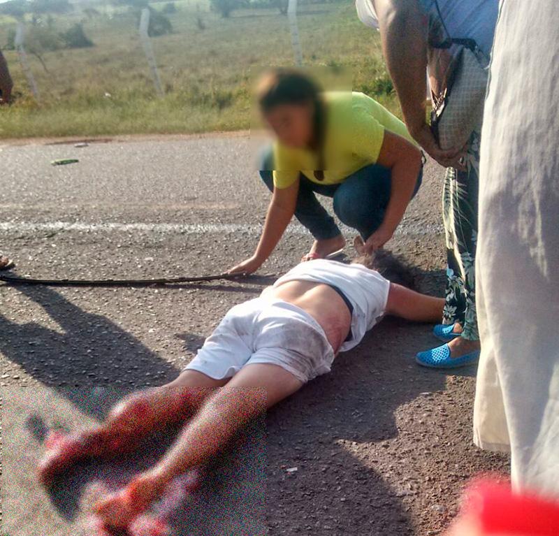 acidente motocicleta automóvel Rodovia Francisco Teles de Mendonça Itabaiana Sergipe