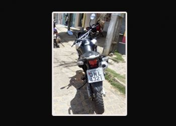 PM prende jovem em Ribeir�polis suspeito por crime de recepta��o de motocicleta roubada em Alagoas