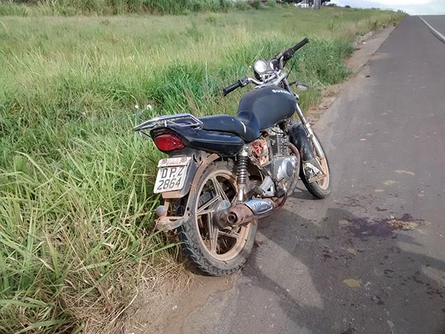 moto abandonada itabaiana br-235