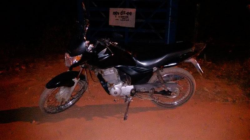 motocicleta abandonada Frei Paulo Sergipe