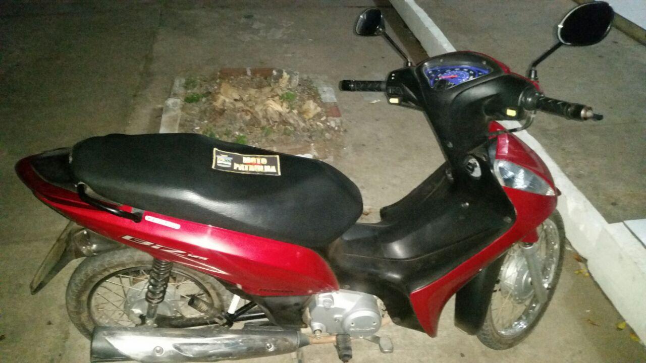 PM recupera motocicleta roubada Itabaiana Sergipe