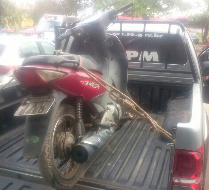 moto recuperada Itabaiana Sergipe