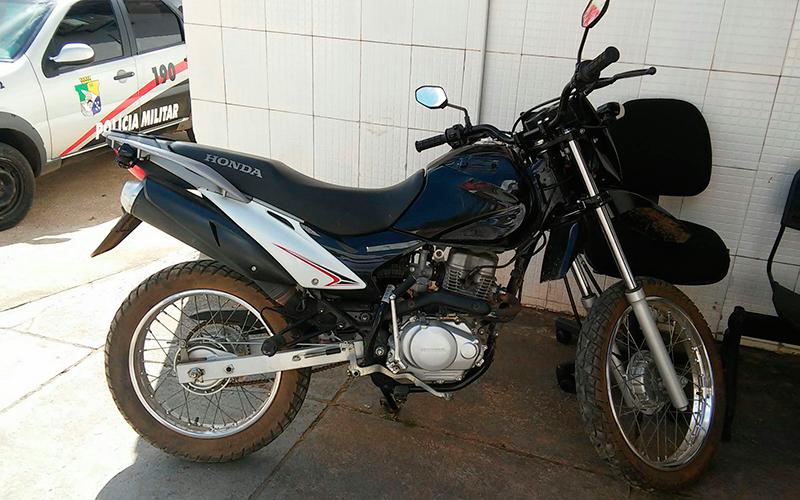 motocicleta BROS assalto Itabaiana Sergipe